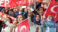 AK PARTİ KONGRESİ - AK Parti kongresinde dikkat çeken pankart