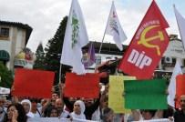 KAZIM ÖZALP - Antalya'da HDP'den 'Dokunulmazlık' Eylemi