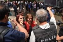 AYŞE ACAR BAŞARAN - Siirt'te İzinsiz Gösteriye Polis Müdahale Etti