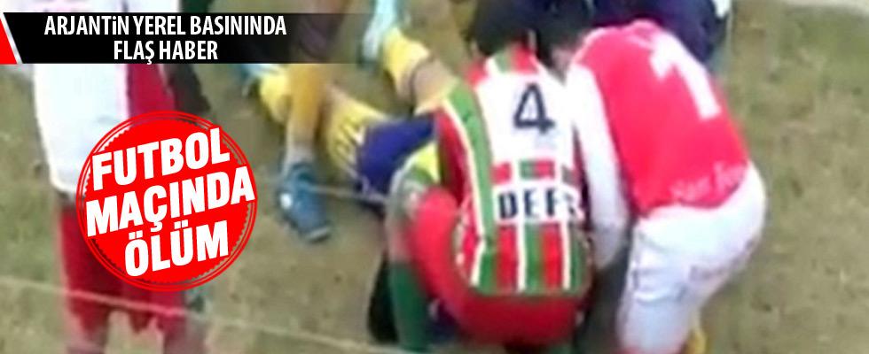 Futbol maçında ölüm