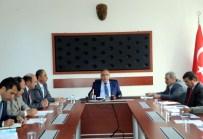 KÖKSAL ŞAKALAR - Bilecik'te İl Encümen Ve Organize Sanayi Bölgesi Toplantısı Yapıldı