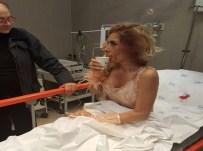 KLİP ÇEKİMİ - Genç Popçu Klip Çekiminde Ölümden Döndü