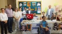 BARIŞ MANÇO - Kaymakam Öner'e Bayrak Hediye Ettiler