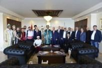 MUHARREM COŞKUN - Ahilerden Rektör Özer'e Ziyaret