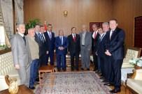 FEVZI UZUN - Bilecik Ahilik Haftası Kutlama Komitesi'nden Vali Nayir'e Ziyaret
