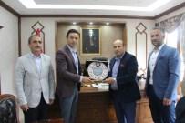 Borçka'da Ensar Vakfı'na Destek Veren Kaymakam Ve Belediye Başkanına Teşekkür Ziyareti