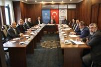 EMIN AVCı - Sosyal Yardımlaşma Ve Dayanışma Vakfı Mütevelli Heyeti Toplantısı Yapıldı