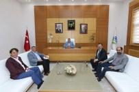 YıLMAZ ÖZTÜRK - Trabzonlular Derneği'nden Başkan Toçoğlu'na Ziyaret