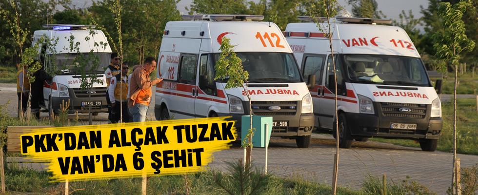 Van'da hain saldırı: 6 asker şehit