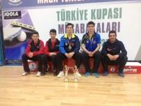 İBRAHİM GÜNDÜZ - Yalova Belediyespor Masa Tenisi Türkiye Kupasına Damga Vurdu