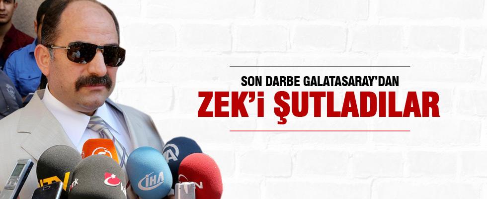 Zekeriya Öz Galatasaray'dan ihraç edildi