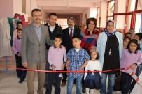 NENE HATUN - 9 Yaşında Ebru Sergisi Açtılar