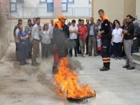 Bartın AFAD'dan Yangın Eğitimi