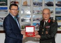 Korgeneral Ömer Paç'tan Başkan Tiryaki'ye Ziyaret