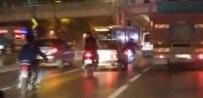 ŞERİT İHLALİ - Motosikletlilerin Ölümle Dansı