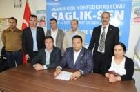 SAĞLıK VE SOSYAL HIZMET ÇALıŞANLARı SENDIKASı - Sağlık-Sen Eskişehir'de Yetkili Sendika Oldu