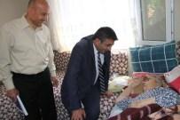 AKÜLÜ SANDALYE - Yatağa Mahkum Kalan Yaşlı Kadının Yüzü Büyükşehirle Güldü