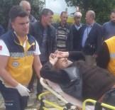 Akçakoca'da Motor Kazası Açıklaması 1 Yaralı