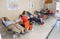ALI ERDOĞAN - Besni İlçesinde Kan Bağışı Yapıldı