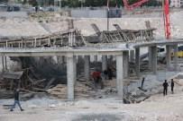 Karaman'da İnşaat Kalıpları Çöktü Açıklaması 1 Yaralı