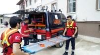 Lapseki Devlet Hastanesinde Yangın Tatbikatı Yapıldı