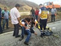Malatya-Sivas Karayolu'nda Kaza Açıklaması 2 Yaralı