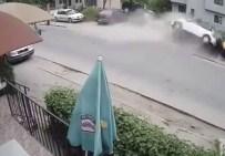 Trafik Canavarı Yayaları Böyle Ezdi Açıklaması 1 Ölü, 2 Yaralı