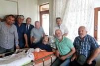 KISMİ FELÇ - Tsyd'den Gazeteci Mustafa Noyan'a Ziyaret