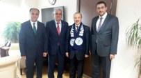MUSTAFA AKIŞ - Başkan Özaltun, Ankara'da Genel Müdürleri Ziyaret Etti