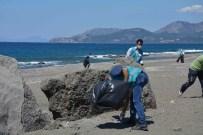 YıLMAZ ŞIMŞEK - Dalaman'da Hükümlüler Çevre Temizliği Yaptı
