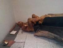 İZMIRSPOR - İzmir'deki çıplak heykele balyozlu saldırı