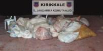 Kırıkkale'de 4 Ton Sağlıksız Sakatat Ele Geçirildi