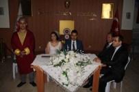 Milas'ta Adliye Çalışanları Adliyede Evlendi