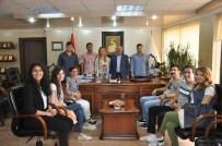 4+4+4 SİSTEMİ - Yeni Atanan Öğretmenlerden Başkan Dinçer'e Ziyaret