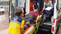 UZUNTARLA - Yolcu Alan Otobüsü Görmeyince Ölümden Döndü