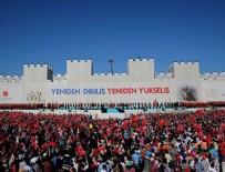 İstanbul'un Fethinin 563. Yıldönümü töreninde dikkat çeken slogan!