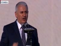 Başbakan Yıldırım Fetih Şöleni'ninde konuştu