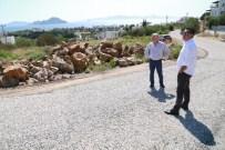 İSMAIL ALTıNDAĞ - Başkan Kocadon, Yol Bakım Ve Onarım Çalışmalarını İnceledi