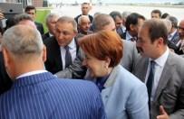 NENE HATUN - Meral Akşener'e Erzurum'da Coşkulu Karşılama