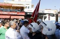 KAZIM ÖZALP - Polisin Bayrak Hassasiyeti