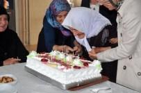 MURAT KOCA - 100. Yaşını Huzurevinde Pasta Keserek Kutladı