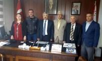 AHMET ARABACı - Cemiyet'ten Müdür Hasan Çevik'e Hayırlı Olsun Ziyareti