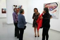 BENLIK - GAÜN Öğretim Üyesi Şenel'in Sergisi Ankaralı Sanatseverlerle Buluştu