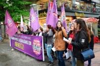 ÖZLEM YILMAZ - Kadın Cinayetlerini Durduracağız Platformu'ndan 'Taciz' Eylemi