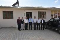 BEKLEME ODASı - Nazilli'de Aşağı Yakacık Yeni Muhtarlık Binasına Kavuştu