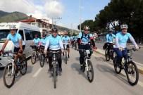 BAŞKARCı - Sağlıklı Yaşal İçin Pedal Çevirdiler
