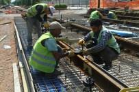 HANLı - Tramvay Hattının Uzunluğu Bin 350 Metreye Ulaştı