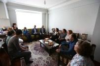 AK PARTI - Başkan Vekili Konak'tan Mimar Aydar'ın Ailesine Taziye Ziyareti