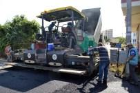 KARGıPıNARı - Erdemli'de Asfalt Çalışmaları Devam Ediyor