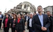 LEYLA GÜVEN - HDP Eş Genel Başkanı Figen Yüksekdağ, Yüksekova'da İncelemelerde Bulundu
